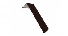 Металлические доборные элементы для фасада в Белгороде Планка лобовая/околооконная простая 190х50